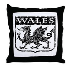 Wales Throw Pillow