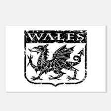 Wales Postcards (Package of 8)