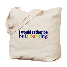 Rather Be Hula Dancing Book Bag 2 Sided Design