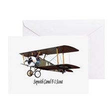Sopwith Camel Scout Greeting Card
