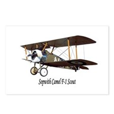 Sopwith Camel Scout Postcards (Package of 8)