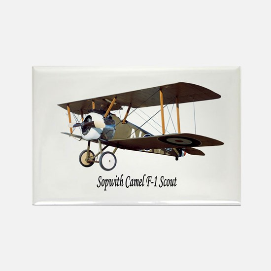 Sopwith Camel Scout Rectangle Magnet