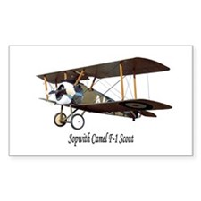 Sopwith Camel Scout Rectangle Decal