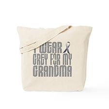 I Wear Grey For My Grandma 16 Tote Bag