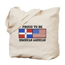 Proud Dominican American Tote Bag