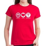 Peace love nurse Tops
