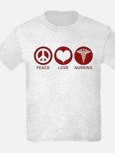 Peace Love Nursing T-Shirt