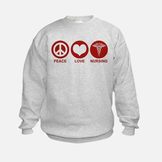 Peace Love Nursing Sweatshirt