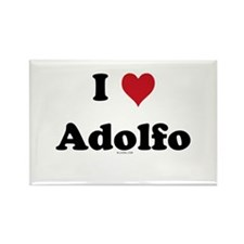 I love Adolfo Rectangle Magnet
