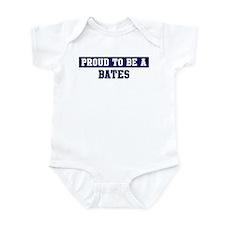Proud to be Bates Infant Bodysuit