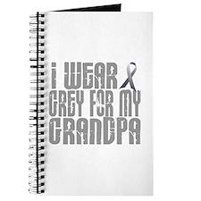 I Wear Grey For My Grandpa 16 Journal