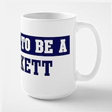 Proud to be Beckett Large Mug
