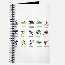 Cute Olympic diving Journal