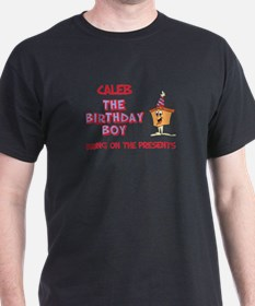 Caleb - The Birthday Boy T-Shirt