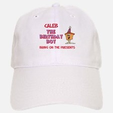 Caleb - The Birthday Boy Baseball Baseball Cap