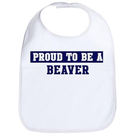 Proud to be Beaver Bib