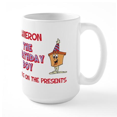 Cameron - The Birthday Boy Large Mug