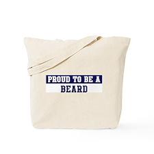 Proud to be Beard Tote Bag