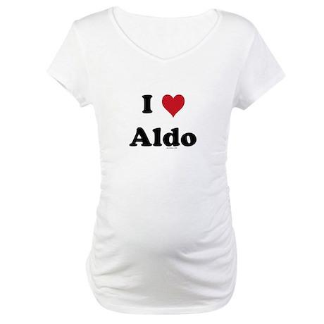 I love Aldo Maternity T-Shirt