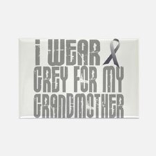 I Wear Grey For My Grandmother 16 Rectangle Magnet