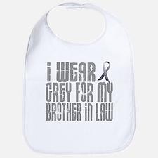 I Wear Grey For My Brother-In-Law 16 Bib