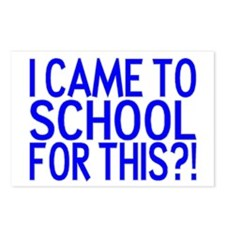Came To School Postcards (Package of 8)