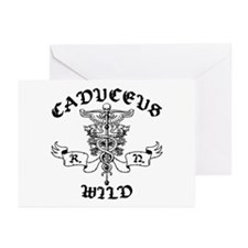Caduceus Wild RN Greeting Cards (Pk of 10)