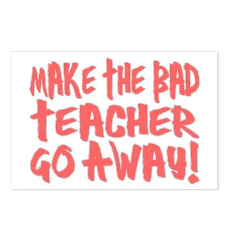 Bad Teacher Postcards (Package of 8)