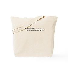 Fed Owns U.S. Tote Bag