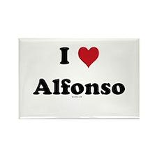I love Alfonso Rectangle Magnet