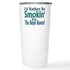 Smokin' Travel Coffee Mug