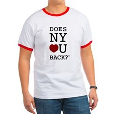 """DOES NY LOVE U BACK?"" Tees"