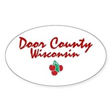 Door County Oval Decal