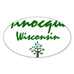 Minocqua Oval Decal
