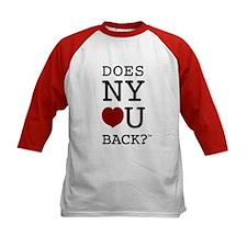 """""""DOES NY LOVE U BACK?"""" Kids Jerseys"""