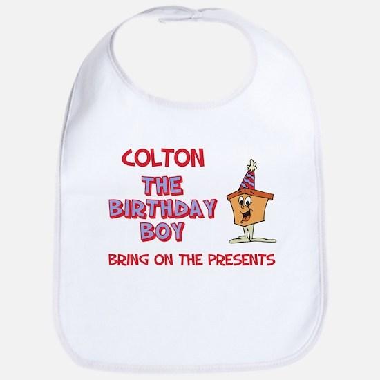 Colton - The Birthday Boy Bib