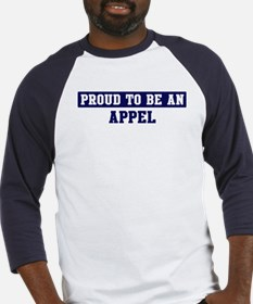 Proud to be Appel Baseball Jersey