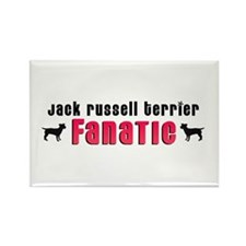 Jack Russell Terrier Fanatic Rectangle Magnet