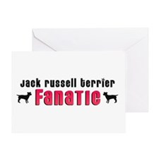 Jack Russell Terrier Fanatic Greeting Card