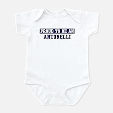 Proud to be Antonelli Infant Bodysuit