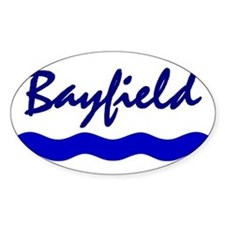 Bayfield Oval Decal