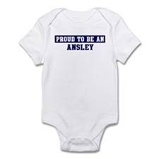 Proud to be Ansley Infant Bodysuit