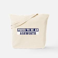 Proud to be Ashworth Tote Bag