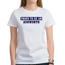 Proud to be Ashworth Tee
