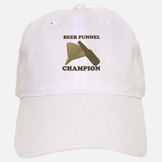 Beer Funnel Champion Baseball Baseball Cap