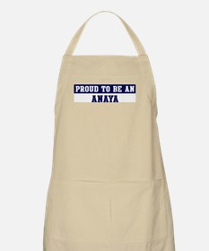 Proud to be Anaya BBQ Apron