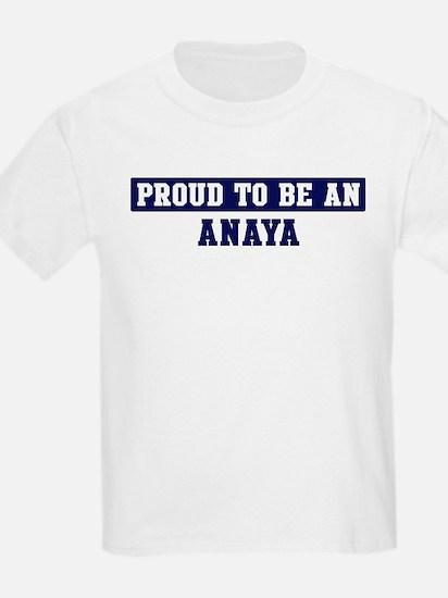Proud to be Anaya T-Shirt