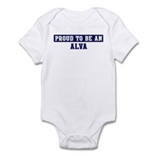 Proud to be Alva Infant Bodysuit