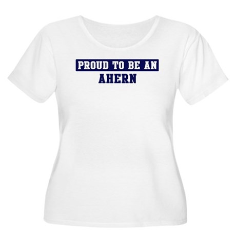 Proud to be Ahern Women's Plus Size Scoop Neck T-S