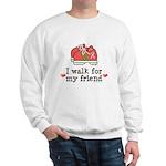 Breast Cancer Walk Friend Sweatshirt